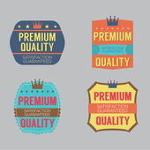 Set of Vintage Retro Badge — Stock Vector