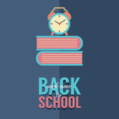 Back to School Concept Vector Illustration — Stock Vector