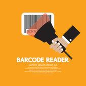 Barcode Reader Graphic Vector Illustration — 图库矢量图片