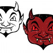 Little devil — Vector de stock
