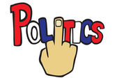 Política — Vector de stock