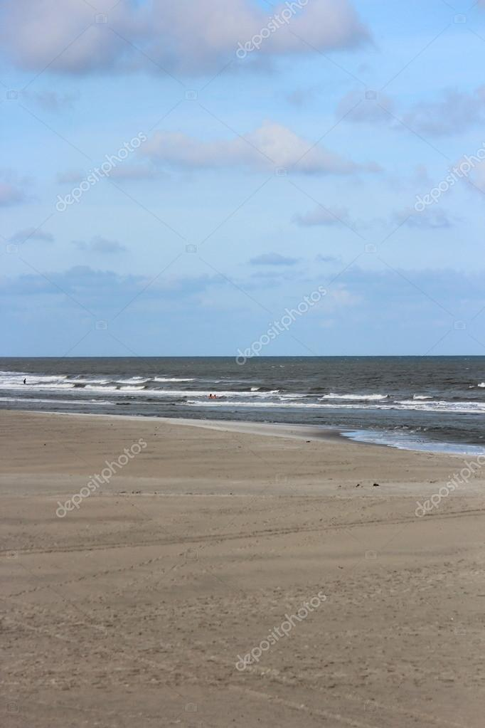 North Sea beach — Stockfoto #13360504