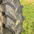 Stock Photo: Trek tires