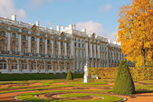 Tsarskoye Selo (Pushkin) near St. Petersburg, Russia. — Stock Photo