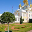Peterhof,near St. Petersburg, Russia. — Stock Photo