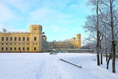 The Great Gatchina Palace in Gatchina, near Petersburg, Russia. — Foto de Stock