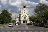 Church Aleksander Nevski, Sofia Bulgaria — Stock Photo