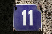Number 11 — Stock Photo