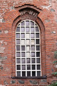 Window of the church — Stock Photo