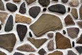 Stone wall background horizontal — Stock Photo