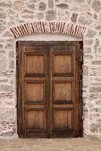 家のドア — ストック写真