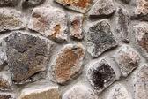 Stone wall background horizontal — Stock Photo