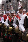 Men in traditional masquerade costume — Stock Photo
