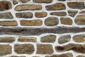 Mur de pierre fond horizontal — Photo