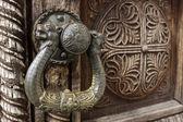 Ornated door — Stock Photo