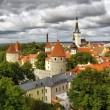 Stock Photo: Kind of old Tallinn