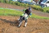 Moto-cross — Stockfoto