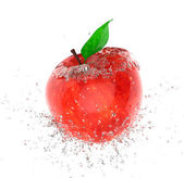 Apple ice — Stock Photo