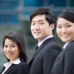 Asian business team. — Stock Photo