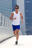 Asian male runner — Stock Photo