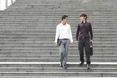 Uomini d'affari asiatici — Foto Stock