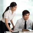Business colleague working together - Stock Photo