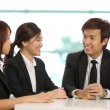 Business colleges having a meeting — Stock Photo #16894959
