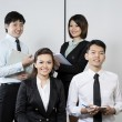 Team of Chinese Business — Stock Photo