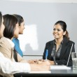 Indian business women in a meeting — Stock Photo #16896495