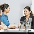 Indian businesswomen having a meeting — Stock Photo #16896507