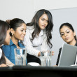 Indian Women colleagues working together — Stock Photo #16896525