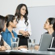 Stock Photo: Indian business women in a meeting