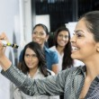 Indian Business women discussing ideas. — Stock Photo #16896631