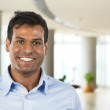 Portrait of a handsome Indian Businesman. — Stock Photo