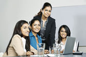 Indian business team — Stock Photo