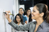 Indian Business women discussing ideas. — Stock Photo
