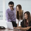 Asian busines team — Stock Photo