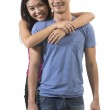 Portrait of a Happy Chinese Couple. — Stock Photo