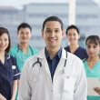 Team of Multi-ethnic medical staff — Stock Photo #36768403