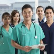 Team of Multi-ethnic medical staff — Stock Photo #36768461