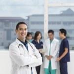 Team of Multi-ethnic medical staff — Photo