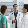 Team of Multi-ethnic medical staff — Stockfoto