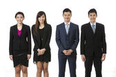 Group of Asian business people. — Stock Photo