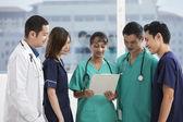Team of Multi-ethnic medical staff — ストック写真