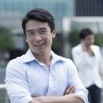 Portrait of an Asian businessman — Stock Photo #36810825