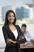 Indian office worker — Stock Photo