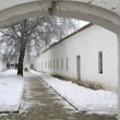 Yard cellblock in Holy Euthymius monastery in Suzdal — Stock Photo