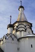 The Assumption refectory church of Holy Euthymius monastery in S — Stock Photo