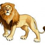 Lion king. — Stock Vector