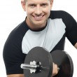 Its workout time — Stock Photo